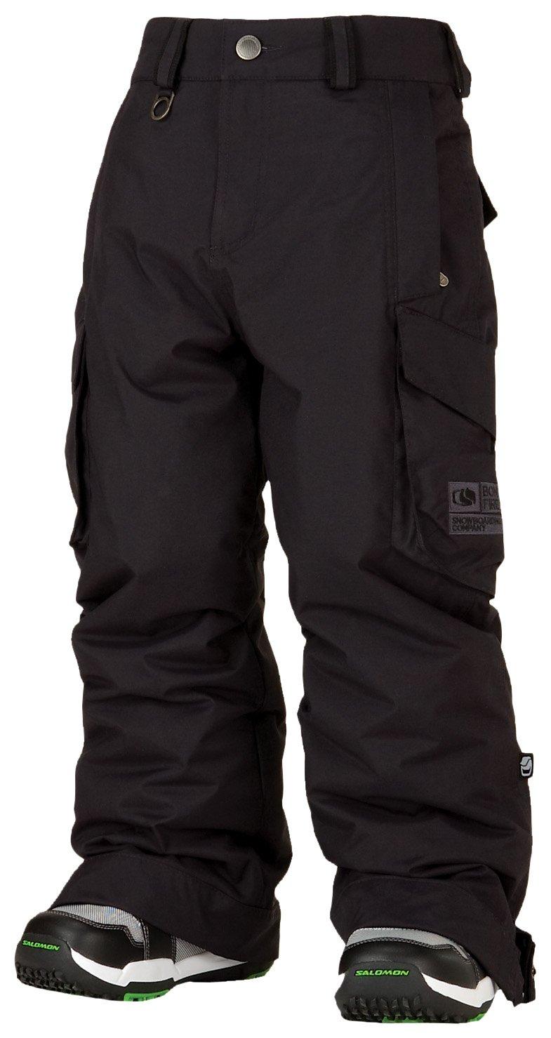 Bonfire Youth Burly Snowboard Pants Black Small