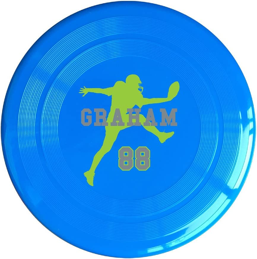 AOLM Football Player NO.88 Outdoor Game Frisbee Light Up Flying Yellow