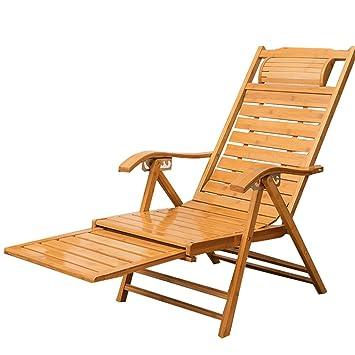 Relaxante Portable Détente Bambou Chaise Accoudoirs Xiter De En Avec X8wnOPk0