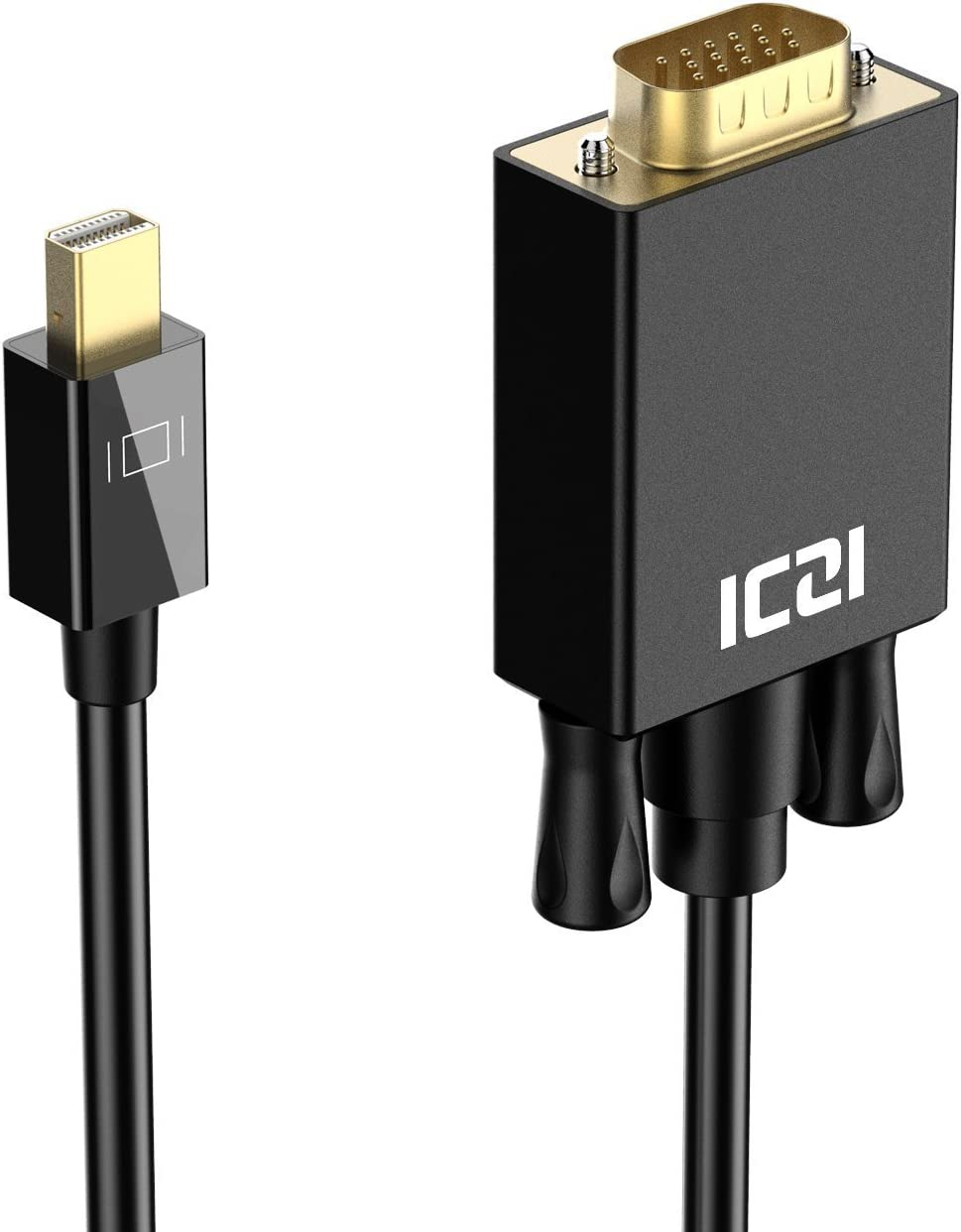 Iczi Mini Displayport Auf Vga Kabel 1 8m 1080p 60hz Elektronik