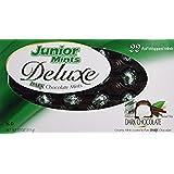 Junior Mints Deluxe Dark Chocolate Mints, 22 Count Foil Wrapped Mints