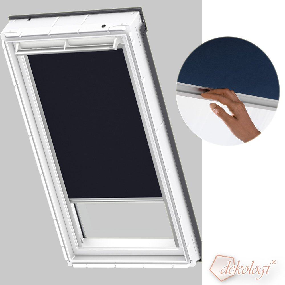 velux fenster rollo awesome velux manuelles rfl farbe. Black Bedroom Furniture Sets. Home Design Ideas