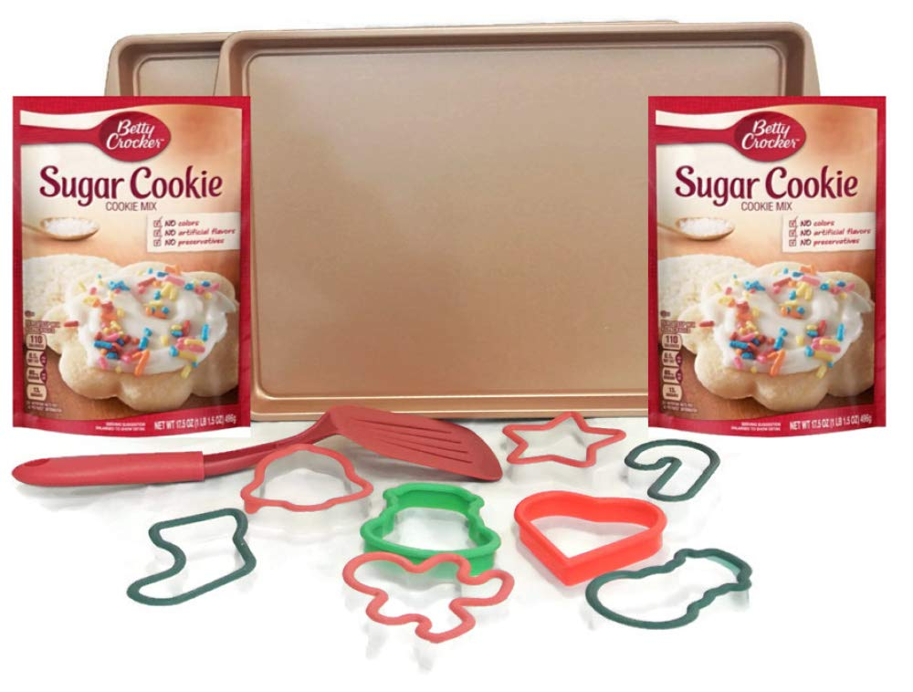 Amazon Com Christmas Cookie Cutters Baking Kit Bundle Of 13 Items