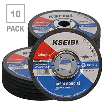 """4/"""" Resin Cutting Disc Cutting Wheel Grinding Disc for Metal Angle Grinder 10pcs"""