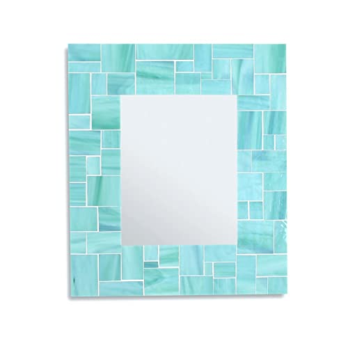 Amazon Com 20x24 Mosaic Tile Mirror Bathroom Mirror For Beach