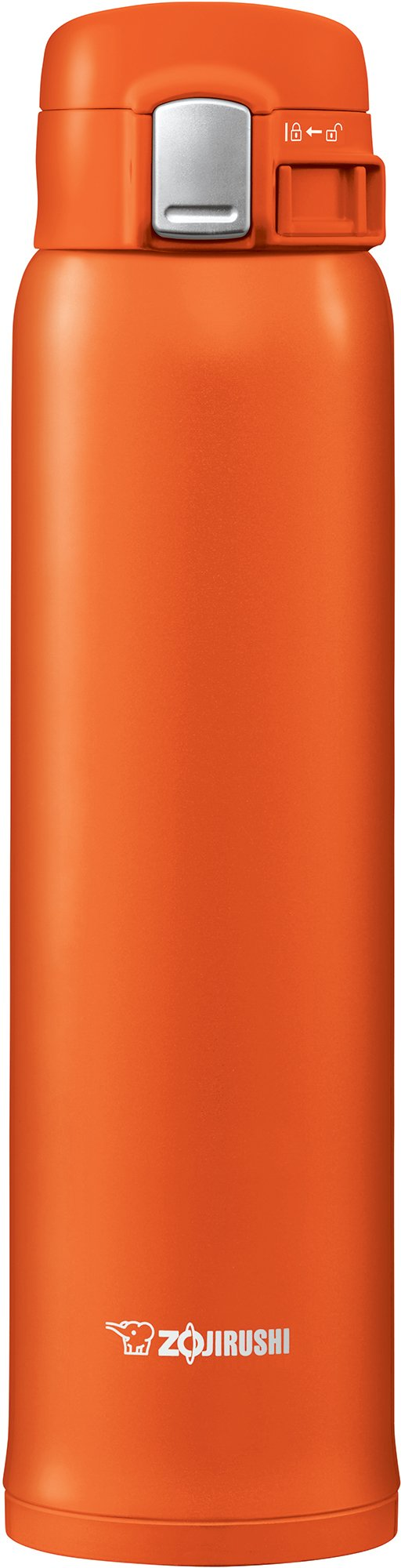 Zojirushi SM-SHE60DV Stainless Steel Mug, 20 ounce, Vivid Orange by Zojirushi