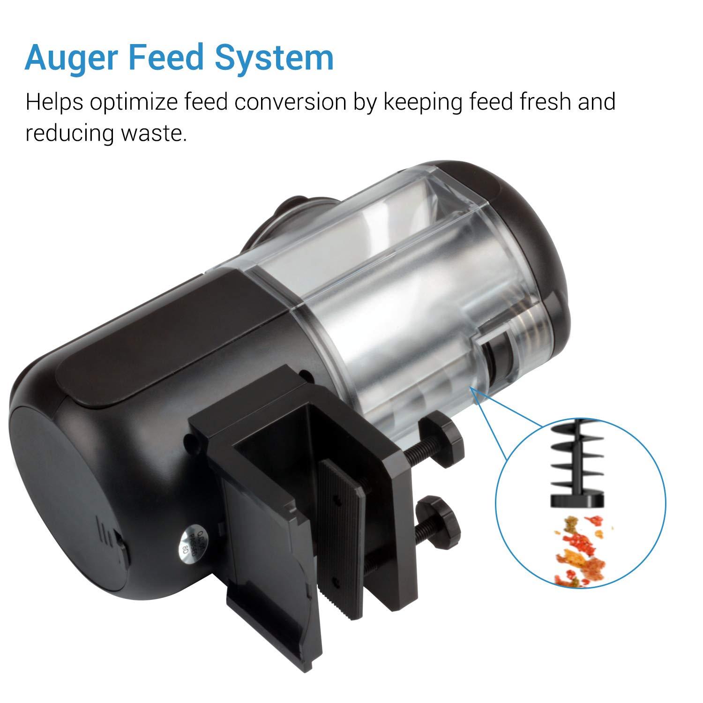 NICREW Automatic Aquarium Fish Feeder, Fish Food Dispenser for Fish Tank, Battery Operated Food Timer for Aquarium by NICREW (Image #3)