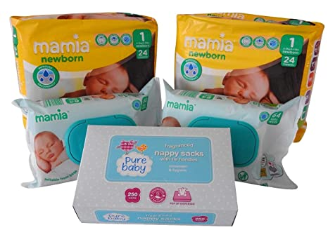 Paquetes Para Bebes Recien Nacidos.Paquete De Panales Para Recien Nacidos Panales Tamano 1