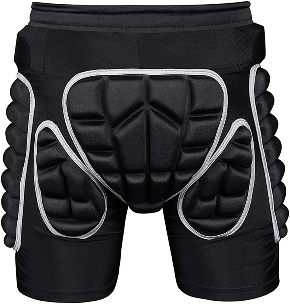 Protection Hip,3D Padded Shorts Breathable Protective Gear for Ski Skate Snowboard Skating Skiing