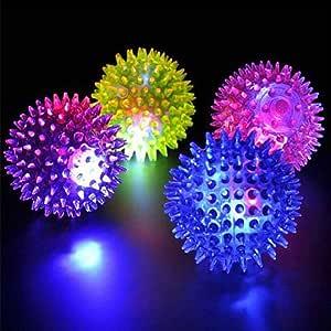 DIECH Spike Ball | Bola de baile de discoteca LED con luz ...