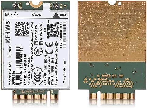 Topiky Módulo 4G LTE inalámbrico, reemplazo EM7455 inalámbrico para DELL DW5811e 3P10Y Qualcomm 4G LTE WWAN NGFF Módulo de Tarjetas de Red