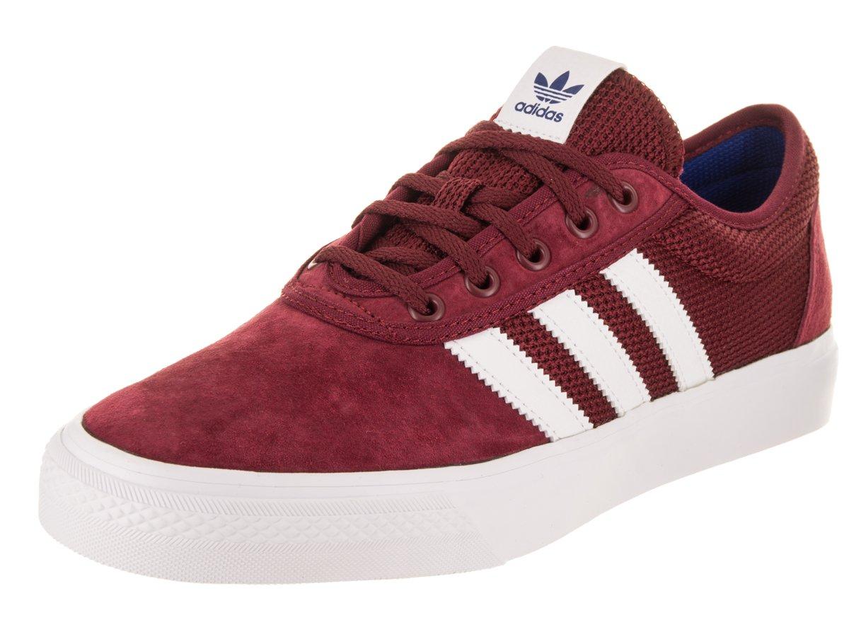 Adidas Men's Adi-Ease Lace up Sneaker B0734FB49F 10 M US Women / 9 M US Men|Collegiate Burgundy/Footwear White/Collegiate Royal