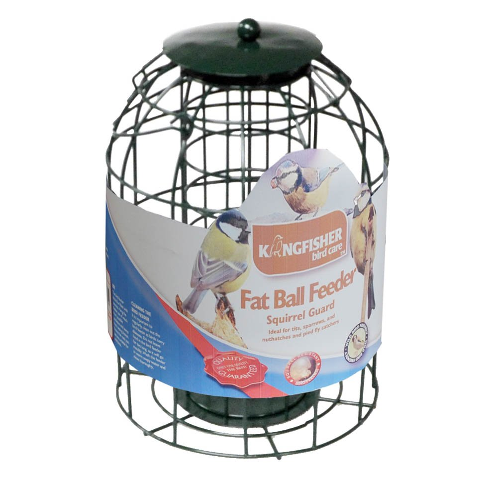 Squirrel Guard Fat Ball Feeder