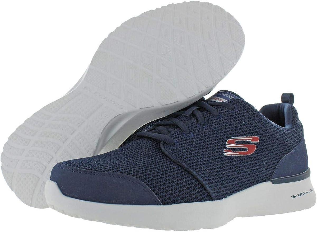 Skechers Men's Skech-Air Dynamight - Vendez Sneaker Navy Red