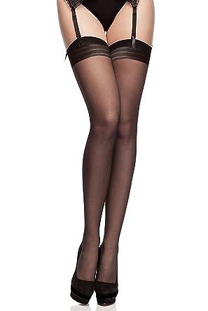 Fiore Bas nylon à couture 20 deniers pour Porte-Jarretelles  Amazon.fr   Vêtements et accessoires 825c516738f