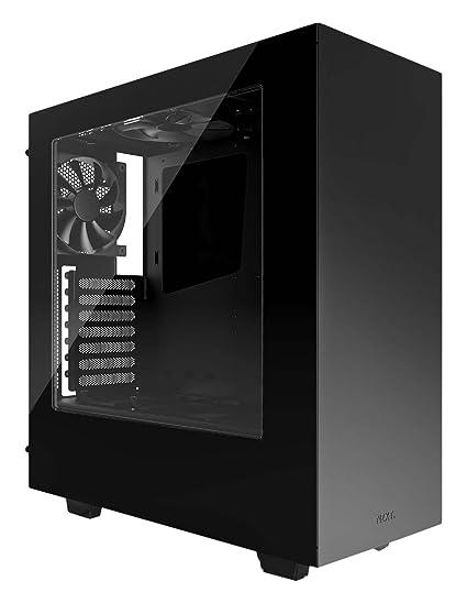 NZXT S340 Mid Tower Case CA-S340W-B1 (Glossy Black)