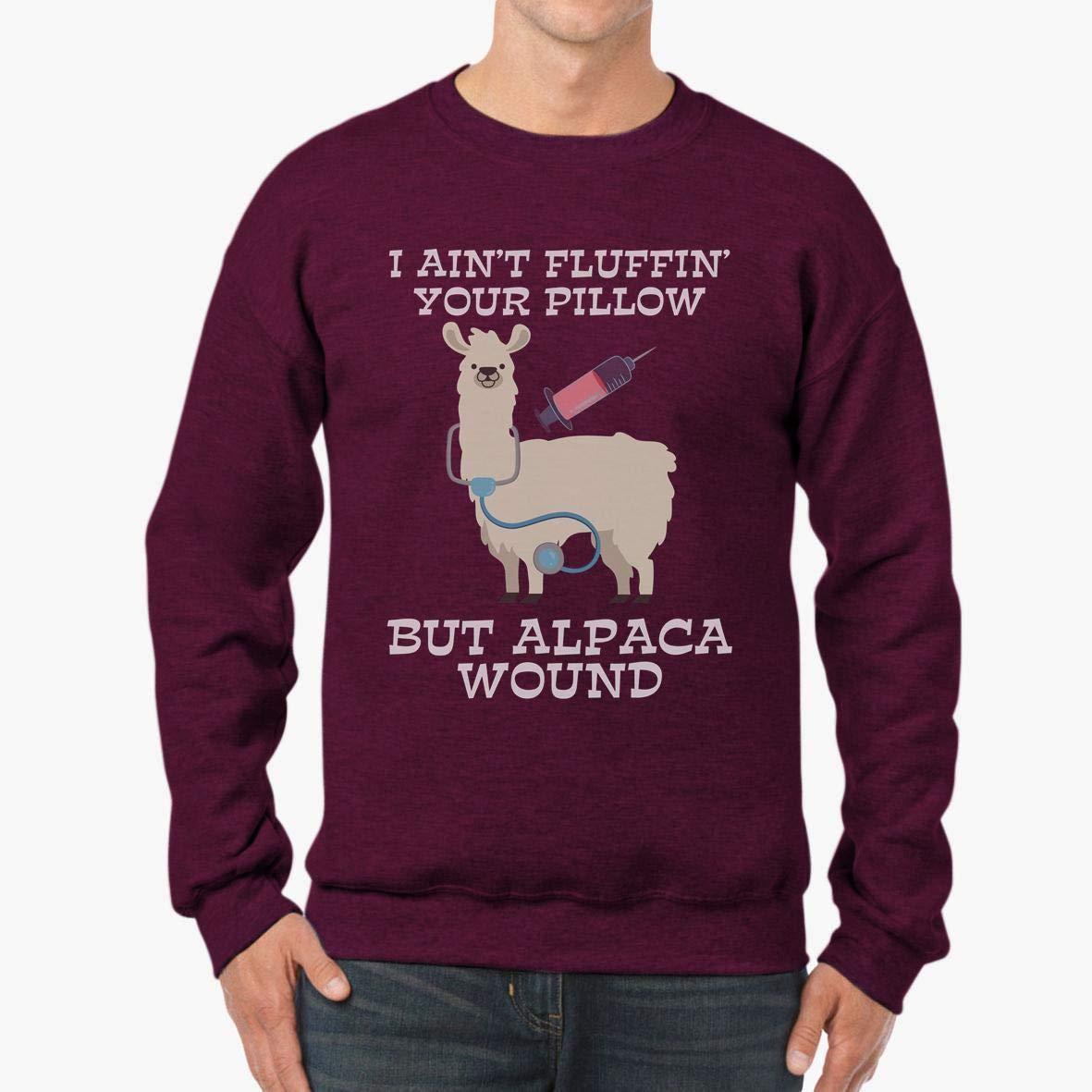 Doryti Alpaca Wound Care Nurse Unisex Sweatshirt tee