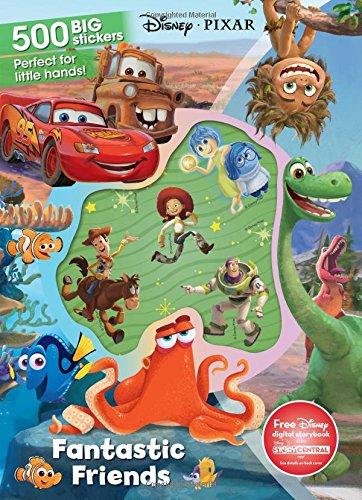 Download Fantastic Friends: 500 Big Stickers (Disney Pixar) PDF