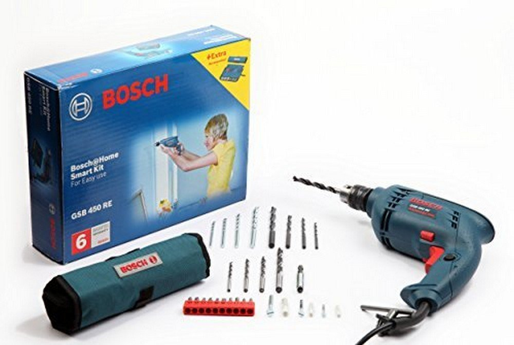 Bosch GSB RE 450-Watt Kit (Blue) product image