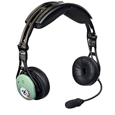 David Clark DC PRO-X2 Hybrid Electronic Noise-Cancelling Aviation Headset: Home Audio & Theater