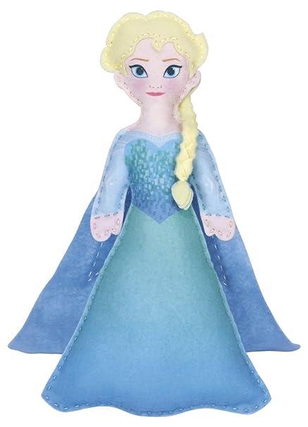 Dimensions Needlecrafts 72-74476 Disney Frozen Elsa Felt Applique Kit