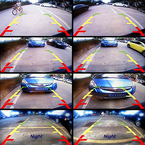 FEELDO C/ámara de visi/ón trasera especial para Toyota Prius 2012 c/ámara de aparcamiento de marcha atr/ás
