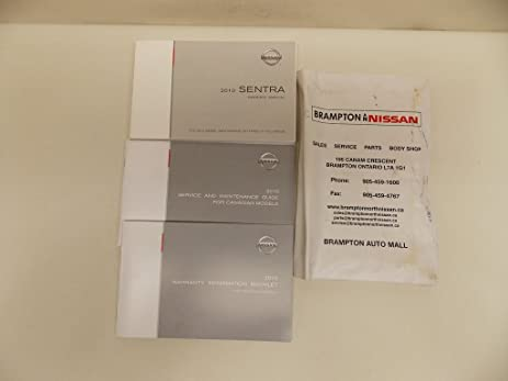 amazon com 10 2010 nissan sentra owners manual book guide set w rh amazon com 2010 nissan maxima owners manual 2010 nissan sentra owner manual pdf