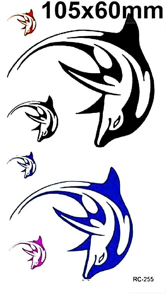(Rc-255) - Pegatinas temporales del tatuaje Pegatinas temporales del cuerpo Pegatina tatuaje para - mujer Inception Pro Infinite B014973IQC