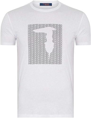 Trussardi Jeans Camiseta t-Shirt Manga Corta Cuello Redondo algodón Hombre artículo 52T00311: Amazon.es: Ropa y accesorios