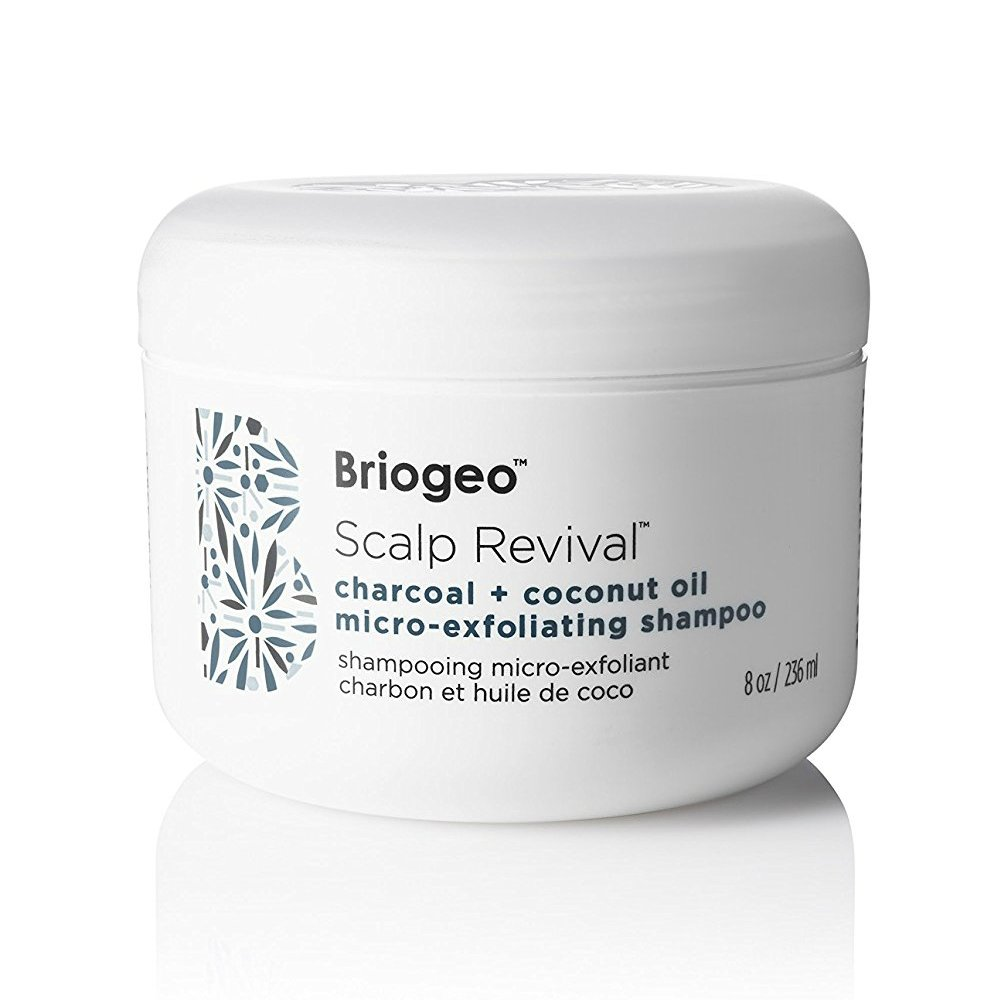 Briogeo - Scalp Revival Charcoal + Coconut Oil Micro-Exfoliating Shampoo - Combats and Prevents a Dry, Flaky, Itchy Scalp, 8 oz by Briogeo (Image #1)