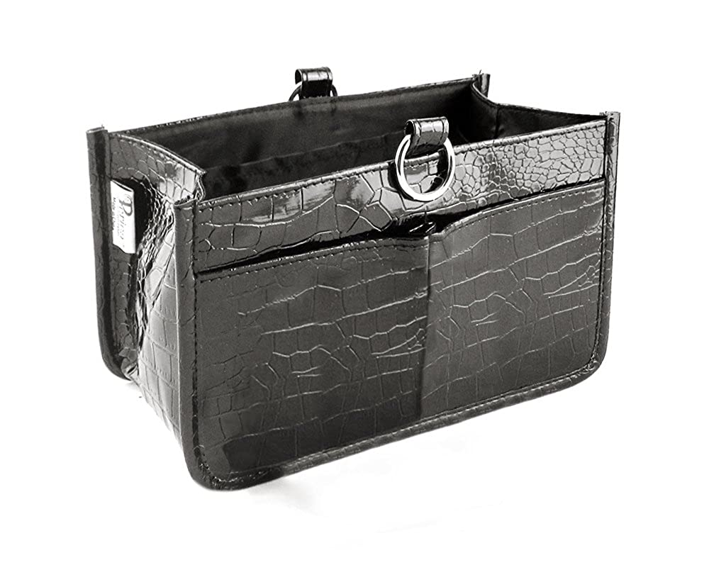 Claire 15 Pockets Medium Periea Handbag Organiser Black