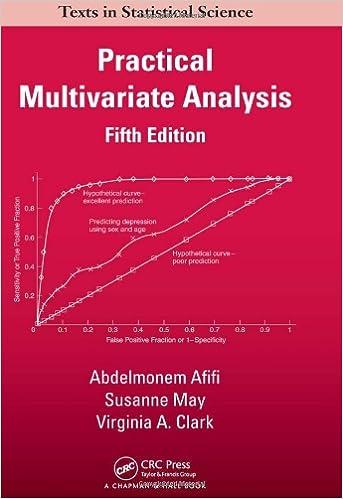 amazon com practical multivariate analysis chapman hall crc