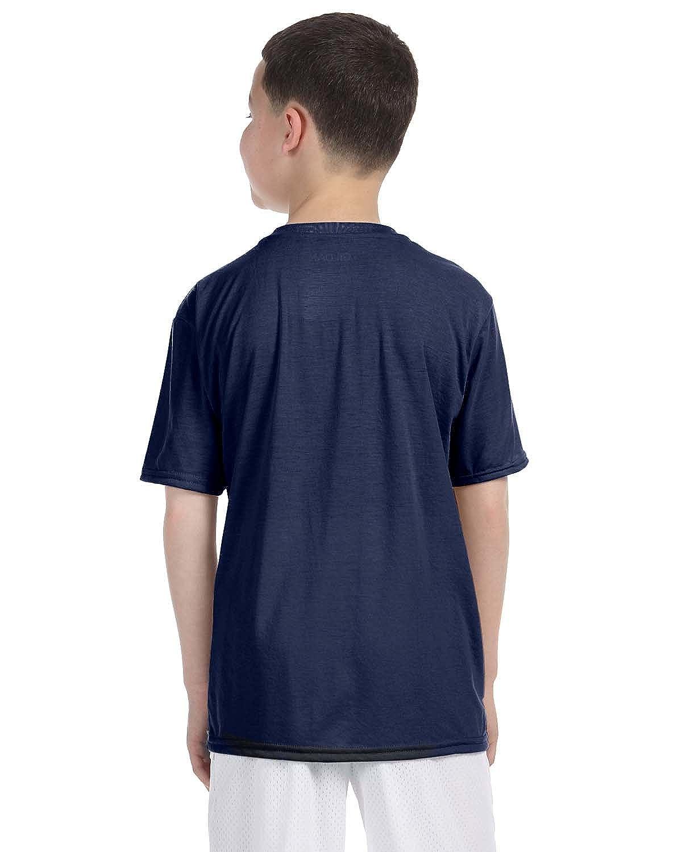 Gildan Boys Performance T-Shirt XS-12PK -Navy G420B