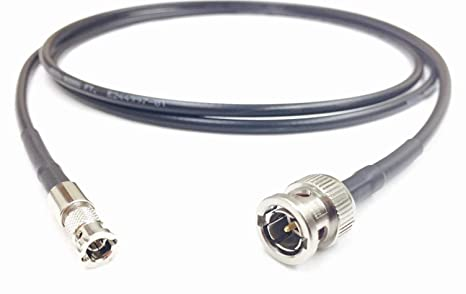 3 ft BNC a alta densidad estándar HD-SDI BNC Cable 4,5 gHz