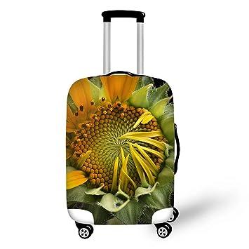 slaldf Funda de Equipaje Hermosas Flores, Accesorios de Viaje, Maletas, Fundas Protectoras,