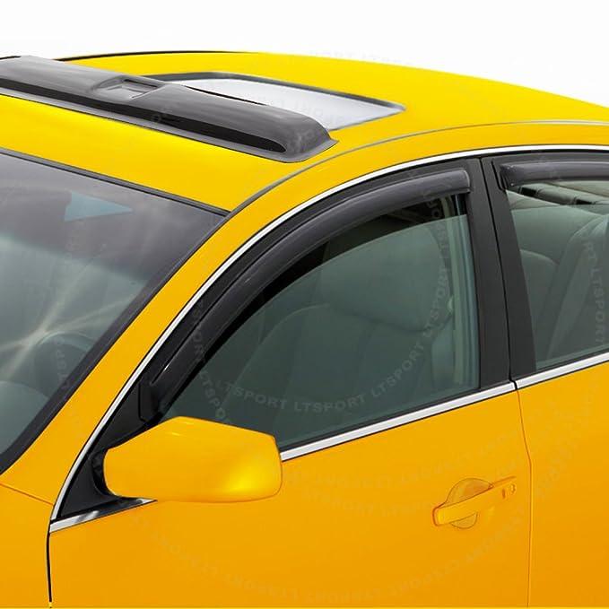 LT Sport SN#100000000617-0116-201 Fit 06-11 Chevrolet HHR Side Window Visor Rain Guard Moonroof Top Vent