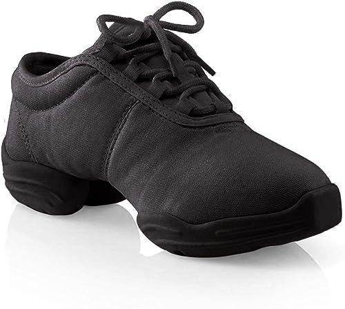 Capezio Canvas Dance Sneaker Black Size