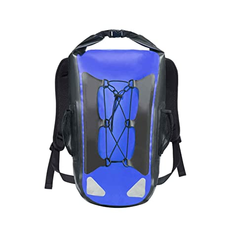 b2df9f27e0 Image Unavailable. Image not available for. Color  SINOTOP Dry Bag  Waterproof Backpack 30L Roll Top ...