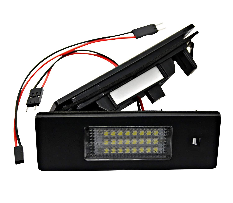 Certifi/é E 2 modules de Plaque dimmatriculation LED SMD Plug /& Play 2D 6000 K