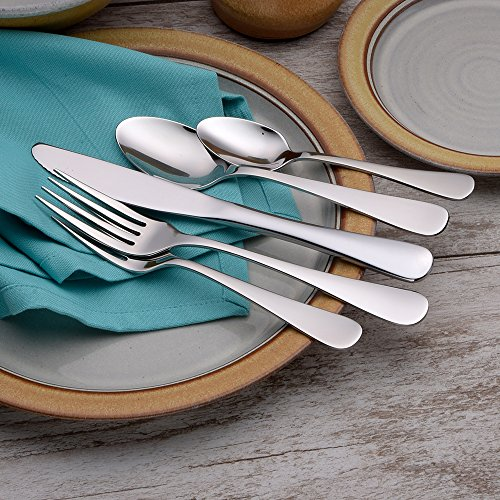Liberty Tabletop Annapolis 20 Piece Flatware Set service for 4 stainless steel 18/10 Made in USA by Liberty Tabletop (Image #5)