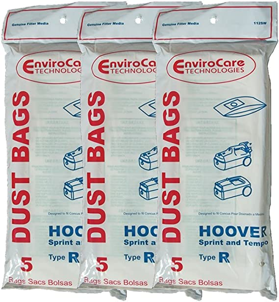 Sprint Tempo Allergy Vacuum Bags H-4010063R 20 Hoover Type R Sprint PortalPower II Hornet 4010063R Tempo PTP II Vacuum Cleaners 43655095