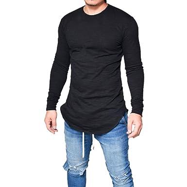 long sleeve mens tops