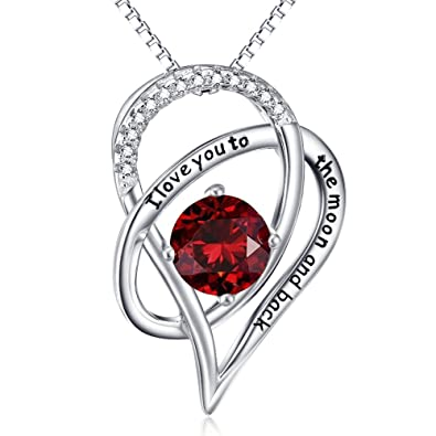 ELBONTEK Jewellery for Womens Necklaces Sterling Silver