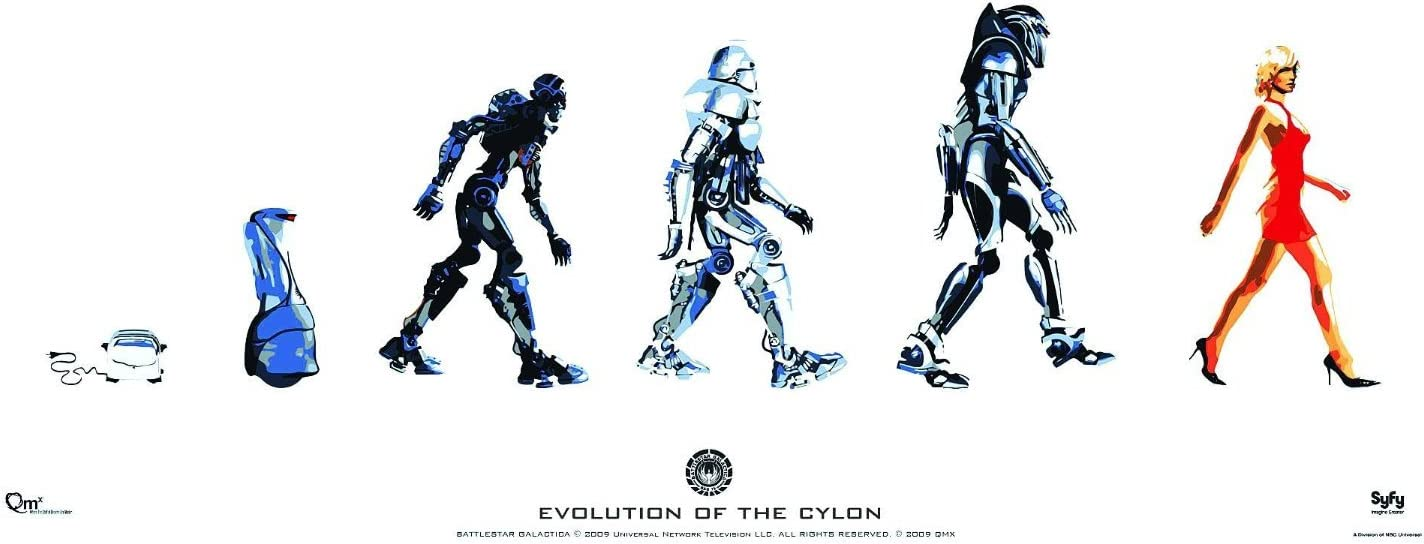 Battlestar Galactica Giant Poster Print