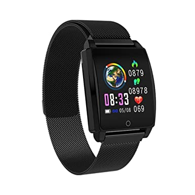 Amazon.com: Mbtaua-Watch AK18, Bluetooth Smart Watch ...
