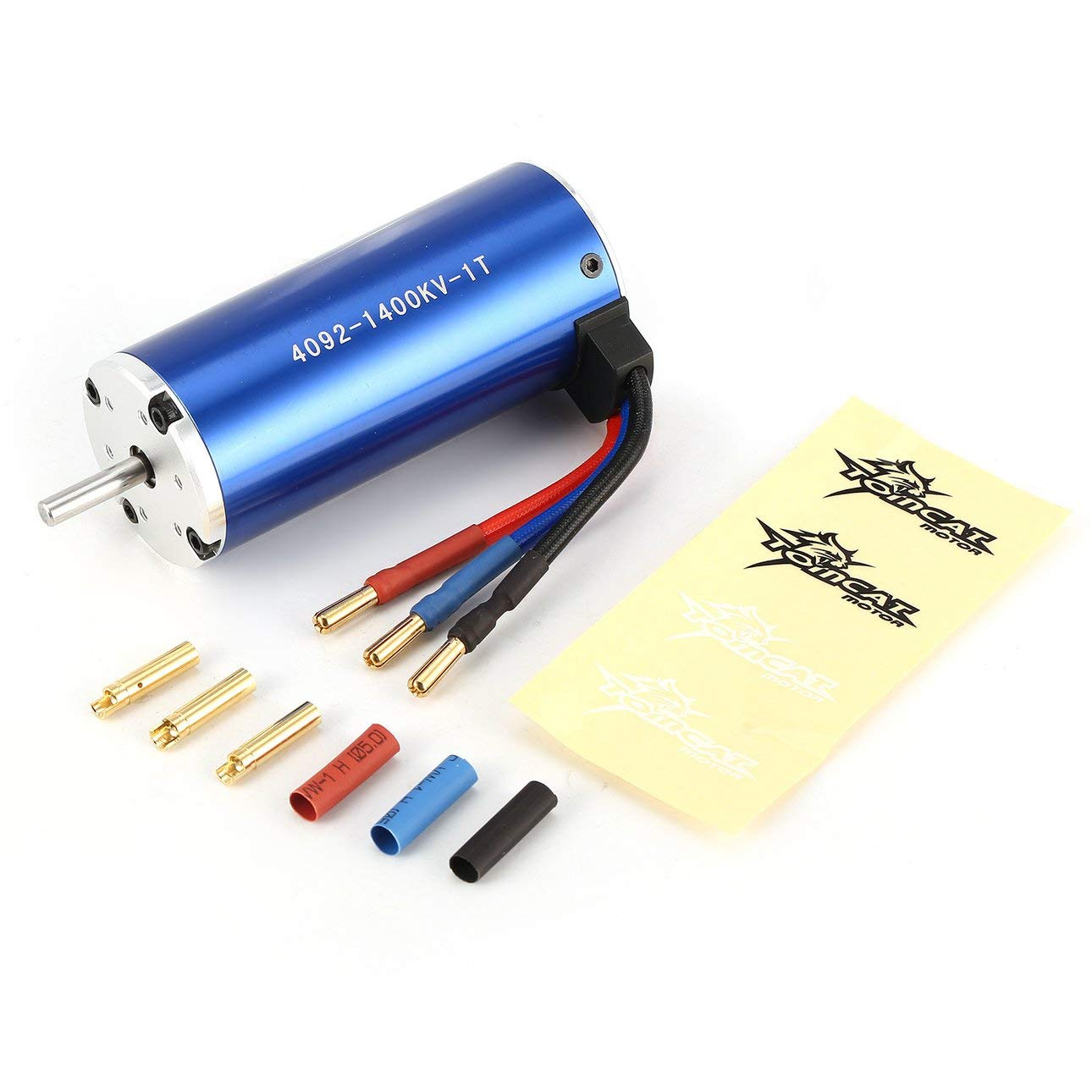 Liobaba TC-CY 4092 1T KV1400 5mm Sensorless Brushless Motor 1/8 Bigfoot RC Car Model Spare Parts Accessories Component