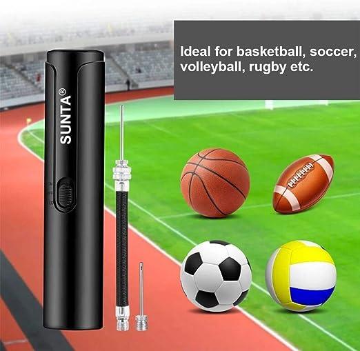 Ball Inflator Hand Air Pump Needle Compact For Football Basketball Socce tt