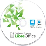 LibreOffice 2021 Home and Student 2019 Professional Plus Business Compatible with Microsoft Office Word Excel PowerPoint & Ad