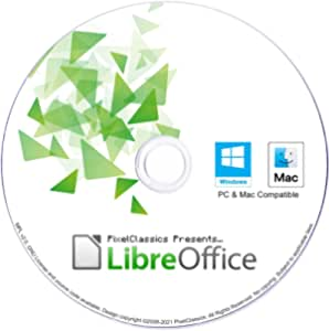 LibreOffice 2021 Home and Student 2019 Professional Plus Business Compatible with Microsoft Office Word Excel PowerPoint & Adobe PDF Software CD for Windows 10 8.1 8 7 Vista XP 32 64-Bit PC & Mac OS X