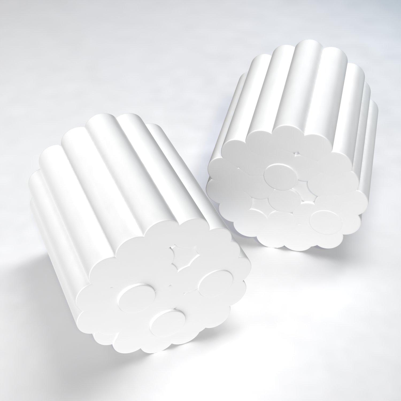 Dynarex Dental Cotton Rolls N/S #2 Med - 10/2000/Cs